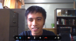 Ernani Celzo (Philippines) learning mapping tools via Skype.